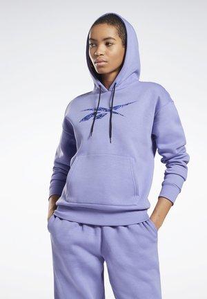 MODERN SAFARI HOODIE - Sweatshirt - lilac