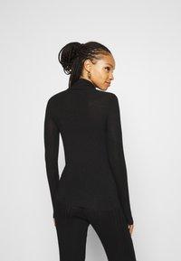 YAS - YASWOOLA - Long sleeved top - black - 2