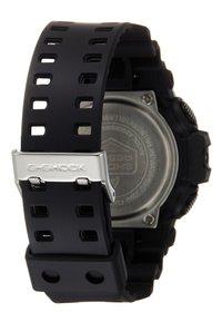 G-SHOCK - GA-700 METALLIC - Digitaal horloge - black/red - 1