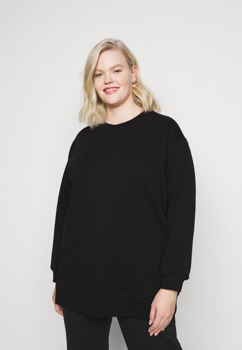 Pieces Curve - PCROKKA LOUNGE CURVE  - Sweatshirt - black
