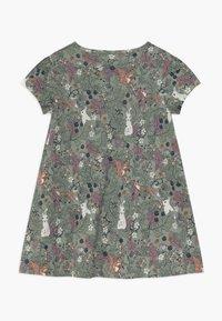 Lindex - MINI LONGSWEET - Žerzejové šaty - light dusty green - 1