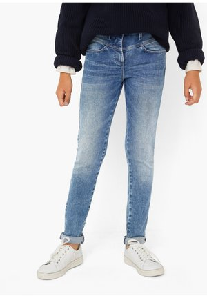 HIGH WAIST - Slim fit jeans - blue