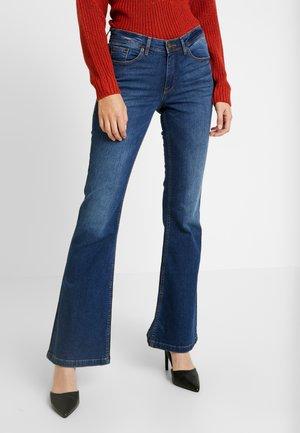 BRIGHT FLARED - Široké džíny - indigo blue
