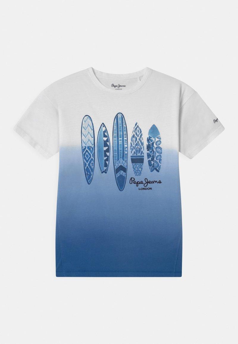 Pepe Jeans - KASPER - Print T-shirt - optic white