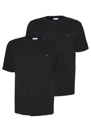 LOGO 2 PACK - T-paita - black