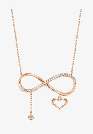 MIT ANHÄNGER - Necklace - rosefarben