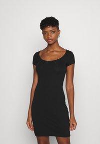 Even&Odd - 2 PACK - Vestido ligero - black/mottled grey - 2
