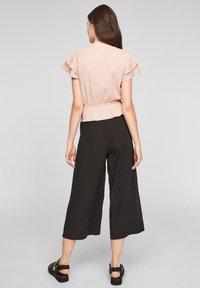 Q/S designed by - Print T-shirt - apricot - 2