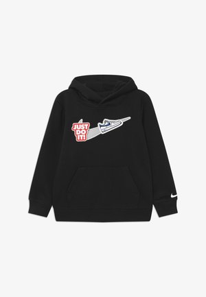 HOOK LOOP TAPE  - Hoodie - black/white
