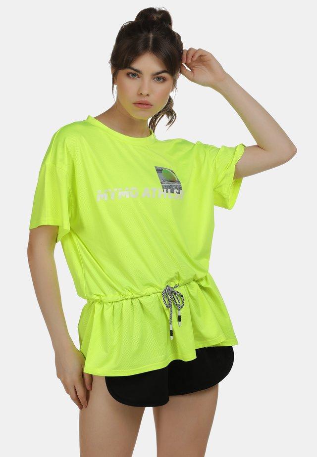 Blouse - neon yellow