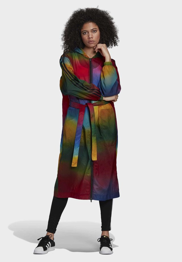 PAOLINA RUSSO COLLAB SPORTS INSPIRED LOOSE LONG JACKET - Zimní kabát - multicolor
