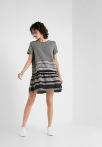 CECILIE copenhagen - DRESS - Day dress - black/stone - 1