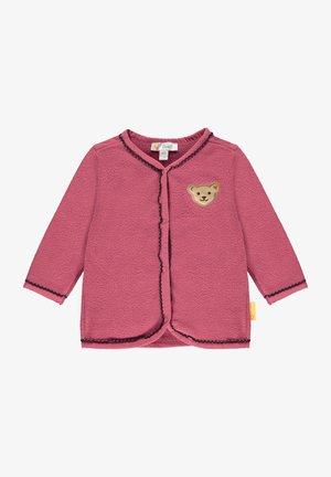 Fleece jacket - carmine