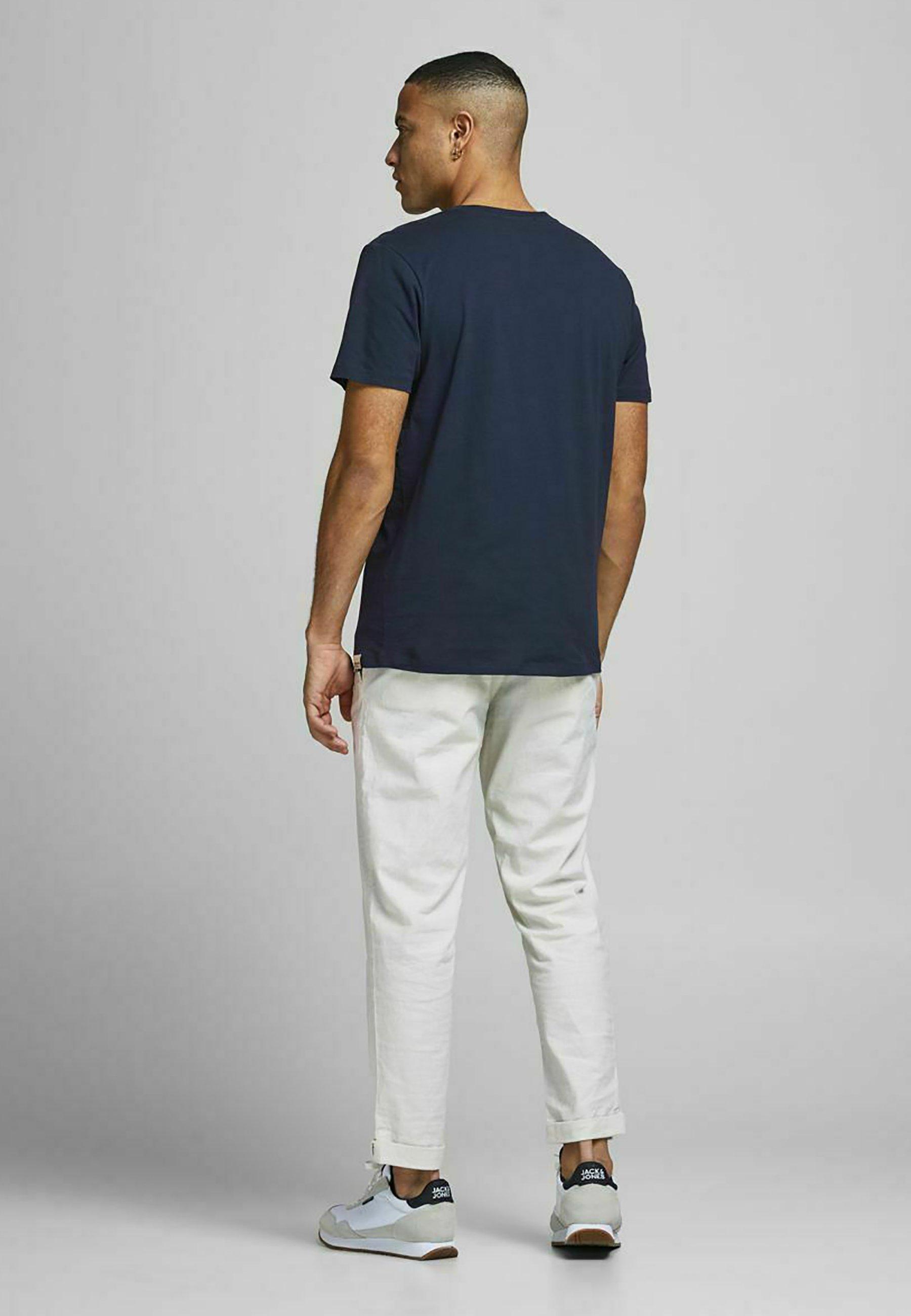 Uomo PALMEN-BLOCKPRINT - T-shirt con stampa