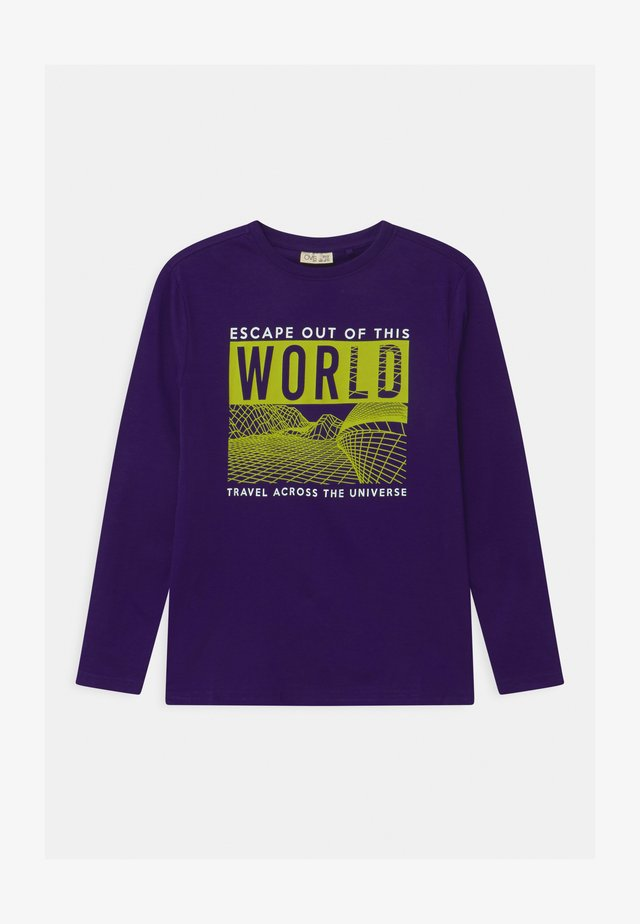 Long sleeved top - parachute purple