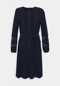 Lauren Ralph Lauren - MID WEIGHT DRESS COMBO - Cocktail dress / Party dress - lighthouse navy - 4