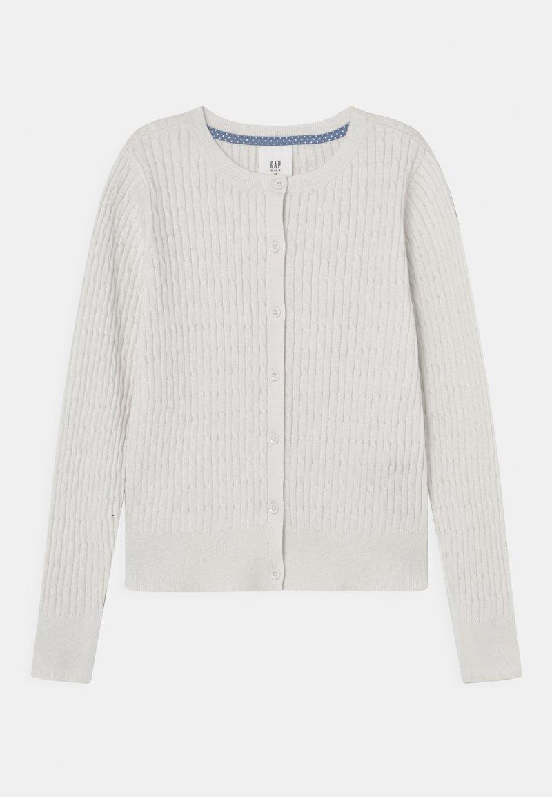 GAP - GIRLS UNI CABLE - Cardigan - white