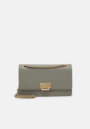 PCSASELINA CROSS BODY KEY - Across body bag - agate gray