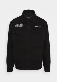 GOODBOIS - OFFICIAL WORKSHOP OVERJACKET - Lehká bunda - black - 0