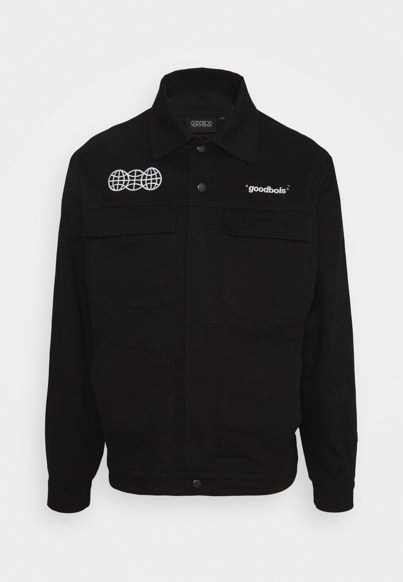 GOODBOIS - OFFICIAL WORKSHOP OVERJACKET - Lehká bunda - black