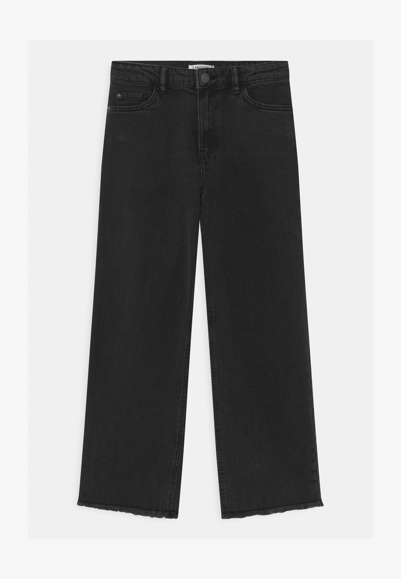 Lindex - LOTTE - Jeans Straight Leg - black