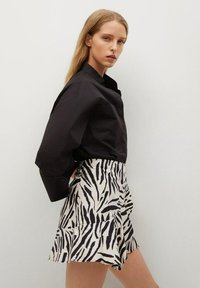 Mango - Wrap skirt - ecru - 3