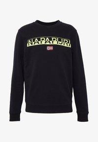 Napapijri - BARAS CREW NECK - Collegepaita - black - 3