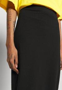 Even&Odd - 2 PACK - Pencil skirt - black/dark blue - 5