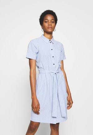 NMHERMINE DRESS - Skjortekjole - light blue/snow white