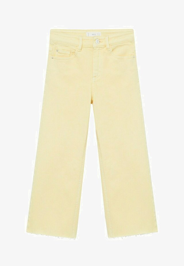 CULOTTEC - Jeans a sigaretta - pastel yellow