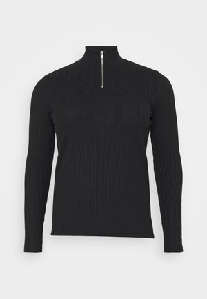 VMRACHEL HIGHNECK - Long sleeved top - black