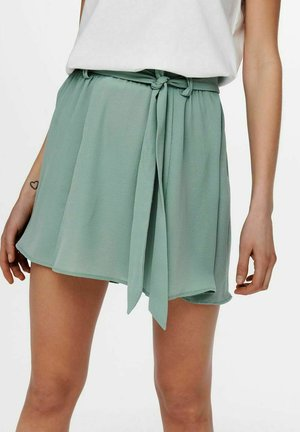 EINFARBIG - A-line skirt - chinois green