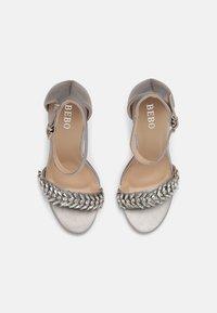 BEBO - CHRISTAL - High heeled sandals - grey - 4