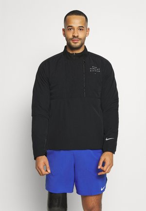 Nike RUN Division ECOFILL CREW DWR - Sports jacket - black/silver