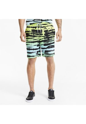 Sports shorts - aquamarine-aop