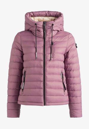 LOVINA - Kurtka zimowa - beige-rosa