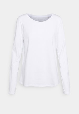 LONG SLEEVE ROUND NECK - Longsleeve - white