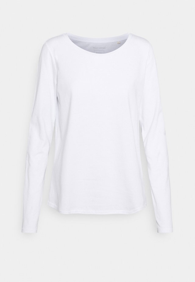 LONG SLEEVE ROUND NECK - Camiseta de manga larga - white