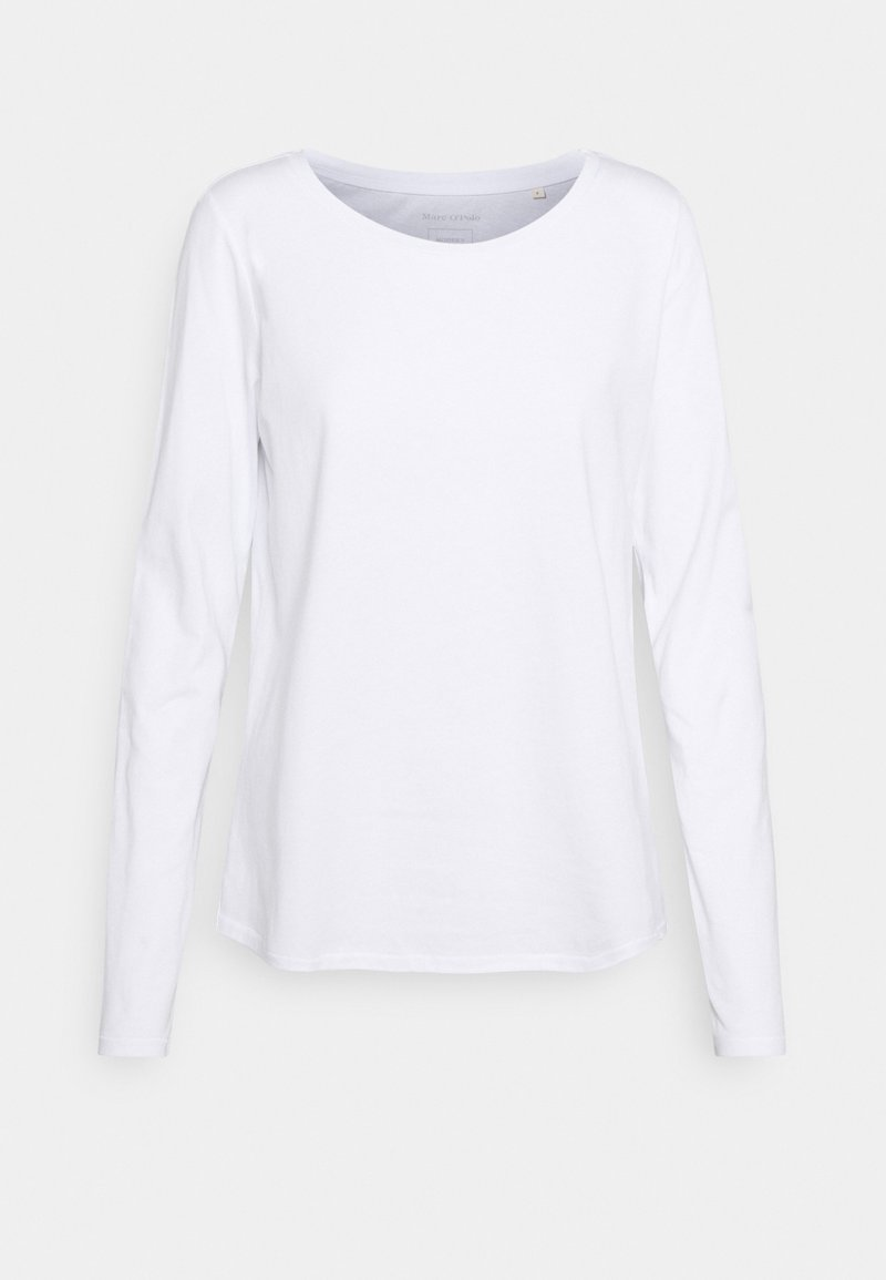 Marc O'Polo - LONG SLEEVE ROUND NECK - Long sleeved top - white