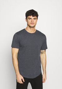 Only & Sons - MATT 7 PACK - Basic T-shirt - light red melange/light grey melange/green melan/anthracite melange/white - 4
