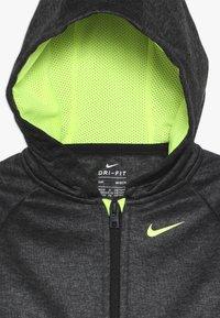 Nike Sportswear - BABY SET - Tracksuit - black/volt - 6