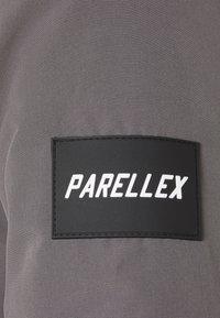 PARELLEX - TREN TAPE CROPPED JACKET - Talvitakki - light grey - 7