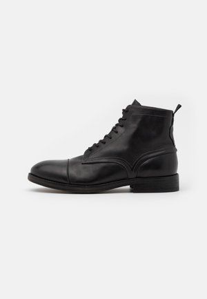 PALMER - Lace-up ankle boots - black