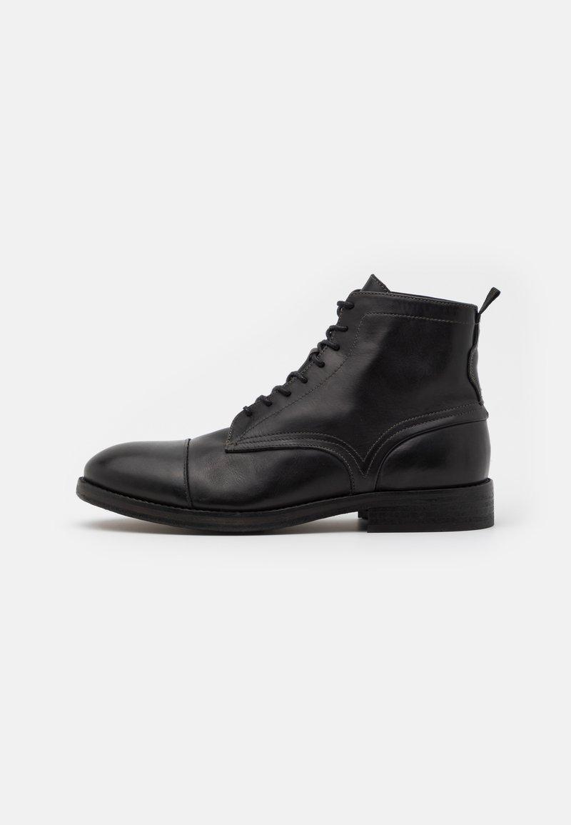 Hudson London - PALMER - Lace-up ankle boots - black
