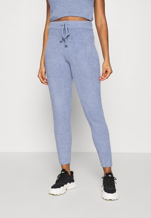 POPCORN JOGGER - Pantalones deportivos - blue