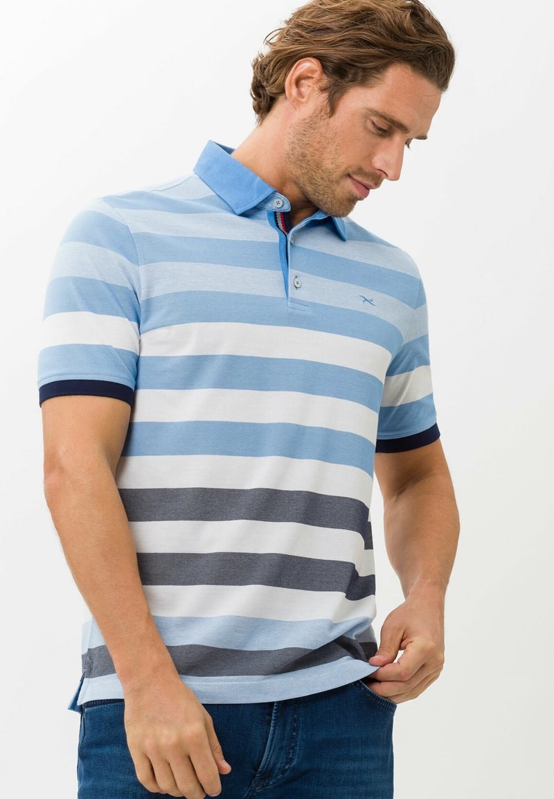 BRAX - STYLE PACO - Polo shirt - iced blue
