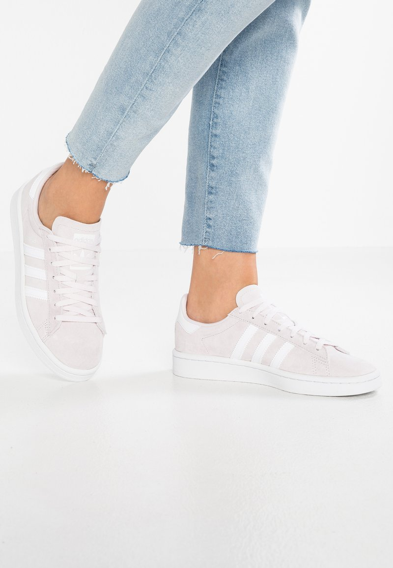adidas Originals - CAMPUS - Sneakers - orchid tint/footwear white/crystal white