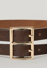 Massimo Dutti - Belt business - brown - 3