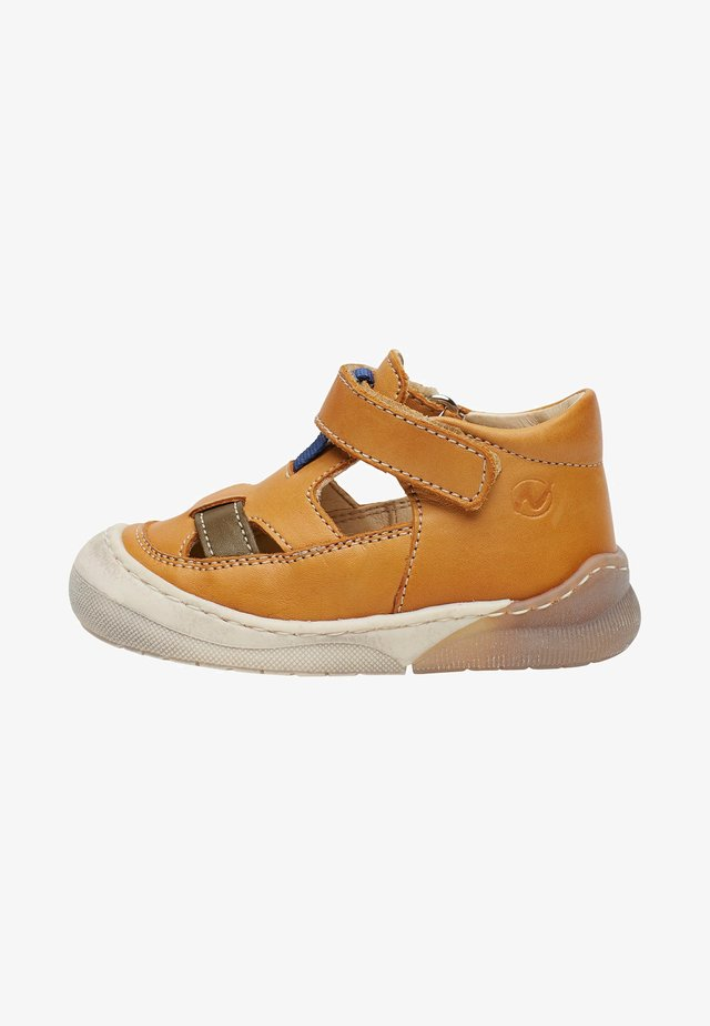 YOONGI - Touch-strap shoes - orange