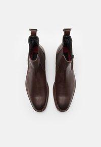 Shelby & Sons - SAMUEL BOOT - Kotníkové boty - brown - 3